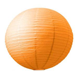 Абажур из рисовой бумаги MA-15-016 (15 см, оранжевый)