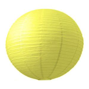 Абажур из рисовой бумаги MA-20-019 (20 см, желтый)