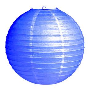 Абажур из рисовой бумаги MA-40-024 (40 см, синий)