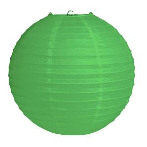 Абажур из рисовой бумаги MA-25-026c (25 см, зеленый)