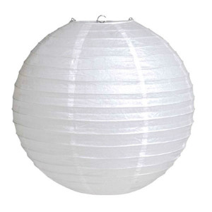 Абажур из рисовой бумаги MA-1w (20 см, белый)