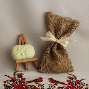Мыло ручной работы  подарочный набор «Оливковая ветвь» –  WSPN-020