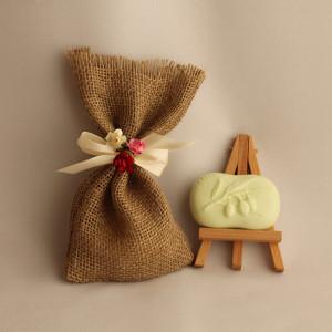 Мыло ручной работы  подарочный набор «Оливковая ветвь» –  WSPN-021