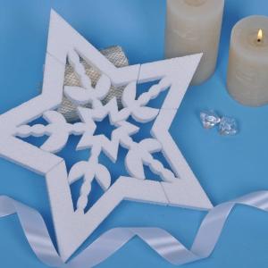 Снежинка (30 см) EC-2212