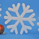 Снежинка (30 см) EC-2222