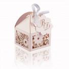 Бонбоньерки без наполнения — коробочки для сладкого на свадьбу