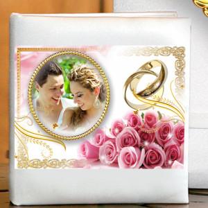 Фотоальбом для свадебных фотографий LX - 40 - 006