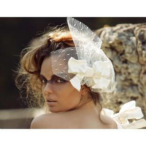 Свадебная шляпка №11  MA - 17 - 025