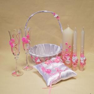 Набор свадебных аксессуаров SA - 18 - 002