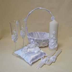Набор свадебных аксессуаров SA - 18 - 004