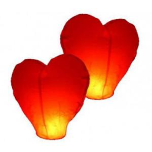 """Небесный фонарик """"Красное сердце"""" SL - 07 - 002"""