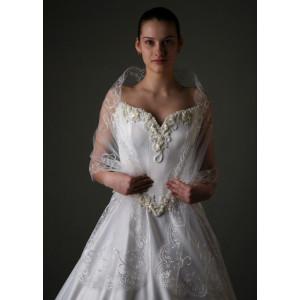 Палантина свадебная FV-17-011