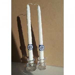 Две свечи в морском стиле M-001
