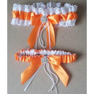 """Комплект подвязок """"Оранжевая мечта"""" WB-10-040"""