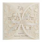 Пригласительные на свадьбу ручной работы — дизайнерские приглашения свитки, рустик, с кружевом