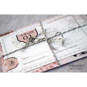 Свадебные пригласительные - изюминка Вашей свадьбы